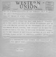 ww2 telegram