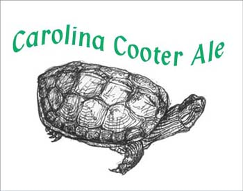 Carolina Cooter Ale  label front