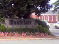 montclair sign