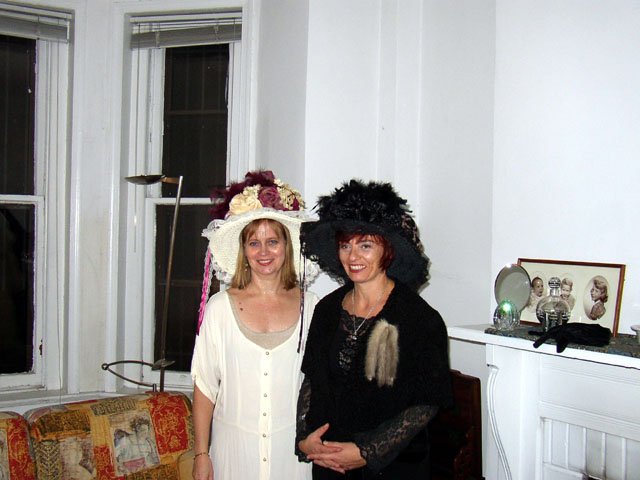 Two Ladies in Hats